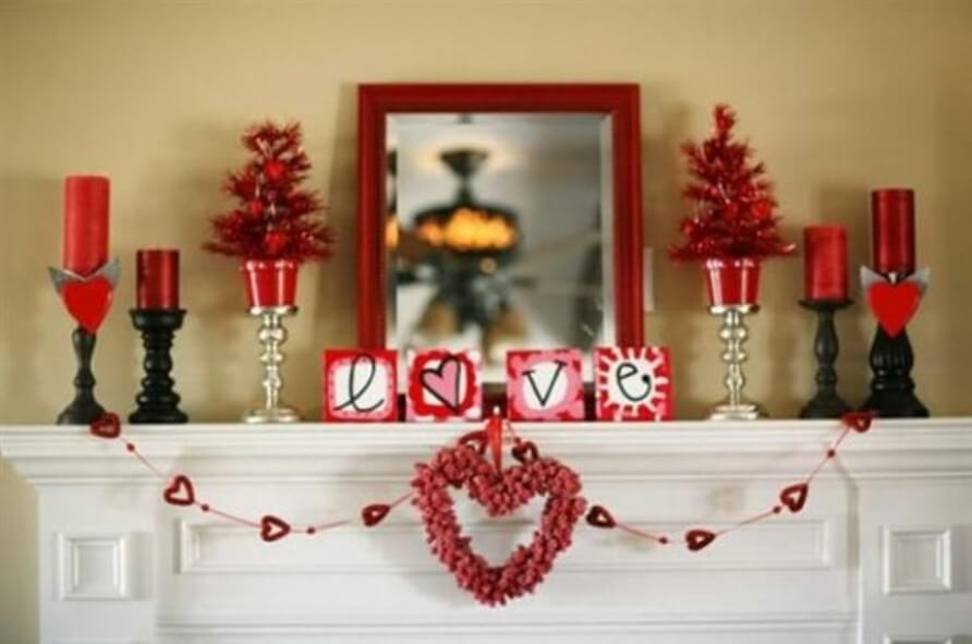 Adorable Red Decor