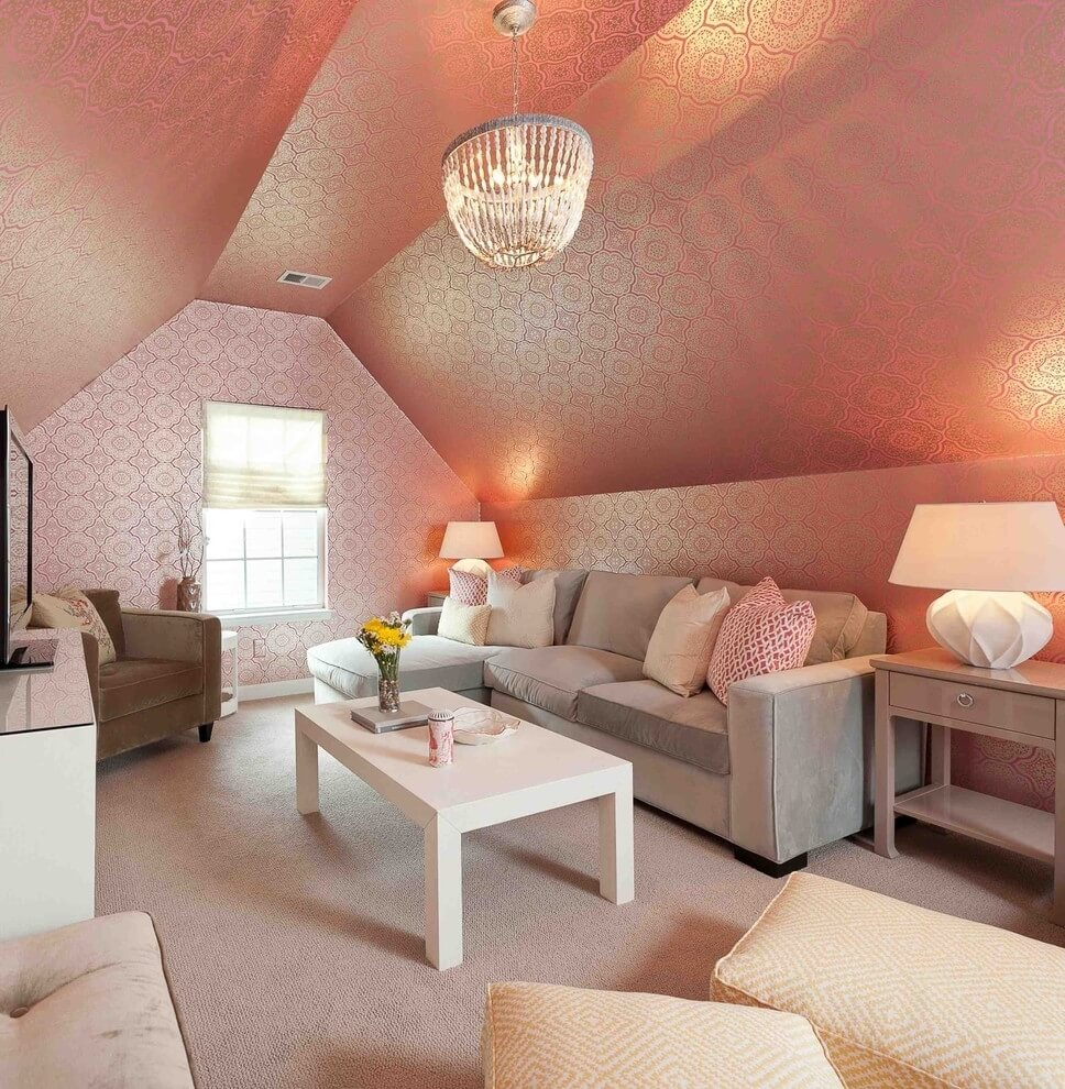 White Gloss Bedroom Furniture Uk Bedroom Interior Design Images Bedroom High Ceiling Design Ideas Romantic Bedroom Color Ideas: 15 Utterly Bold And Sleek Attic Living Room Design Ideas