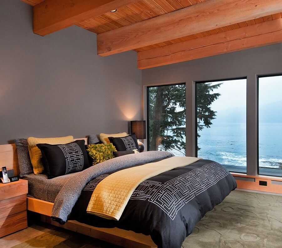 Best 12 grey and yellow bedroom design ideas for cozy and for Gray and yellow bedroom