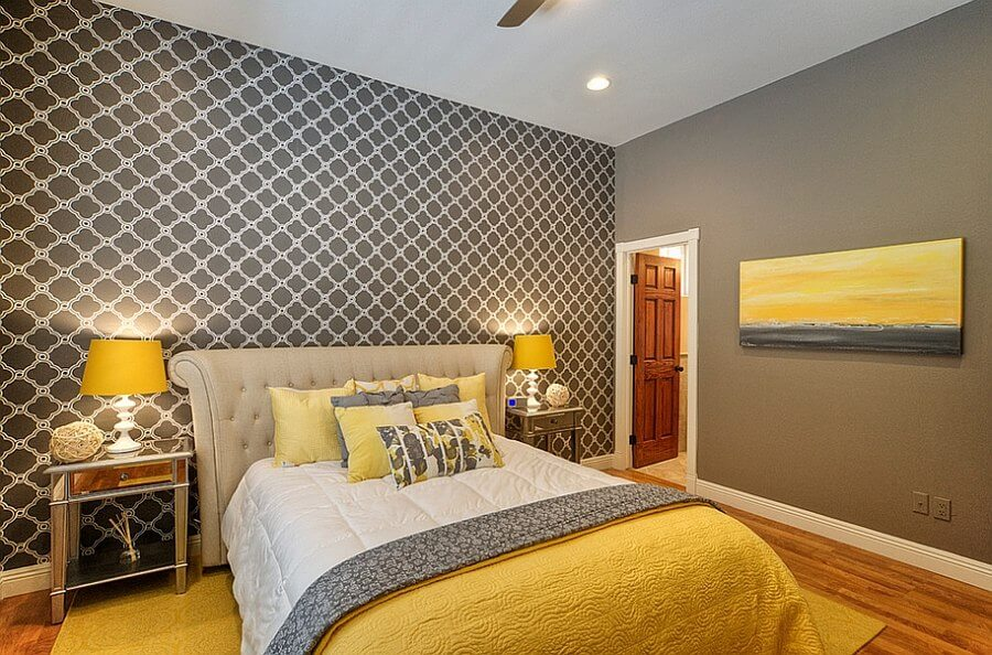 Best 12 Grey And Yellow Bedroom Design Ideas For Cozy And Modern Vibe