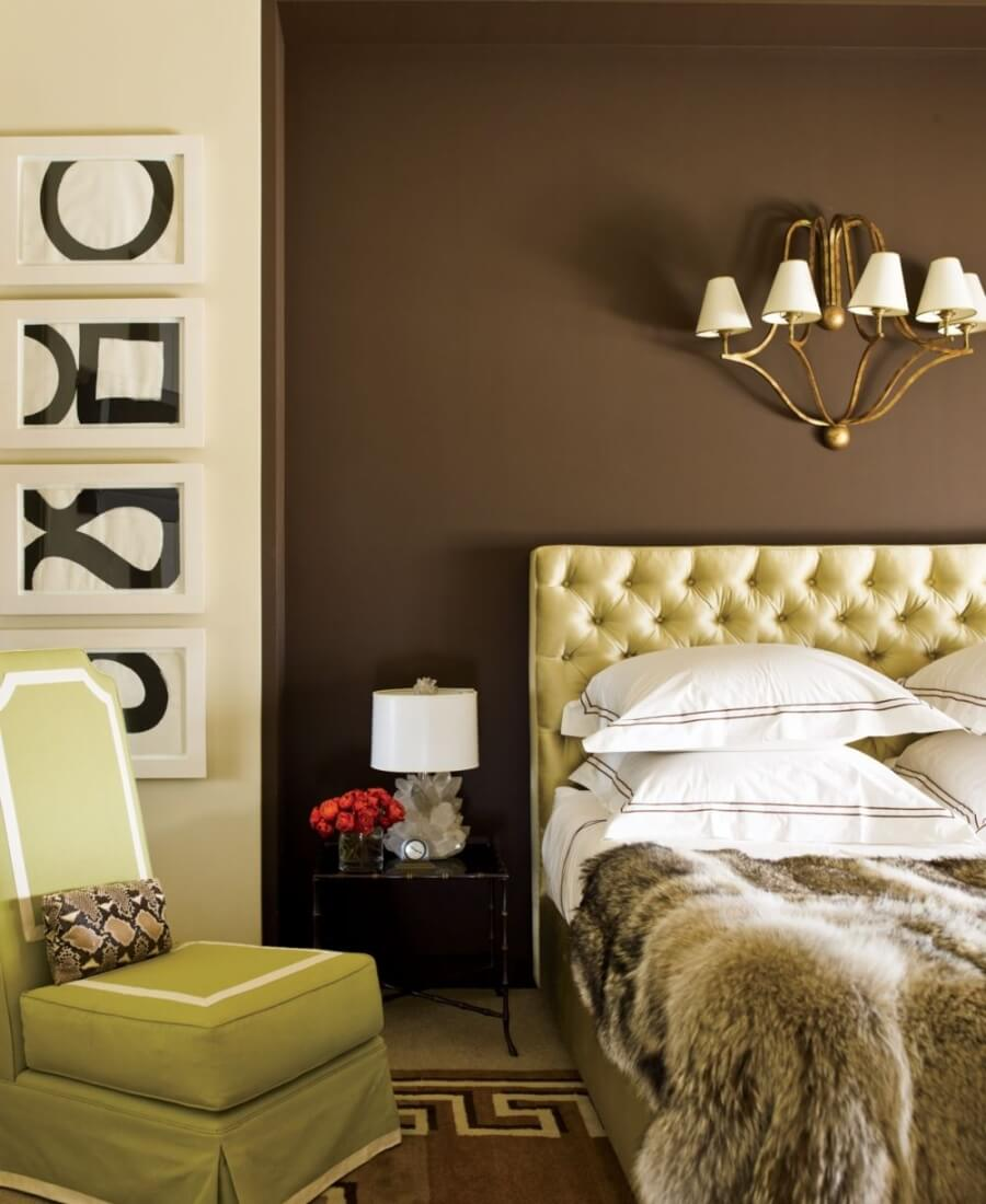 15 super chic bedrooms with faux fur bedding https for Opulent bedrooms
