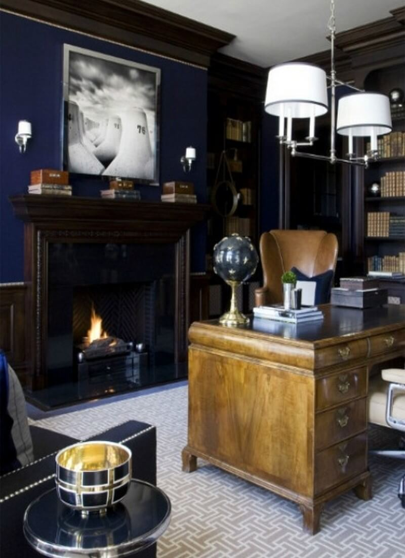 10 stylish masculine home office designs to amaze https