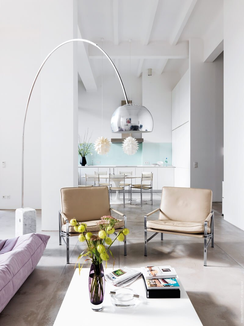 8 Contemporary Arc Floor Lamp Designs As A Perfect