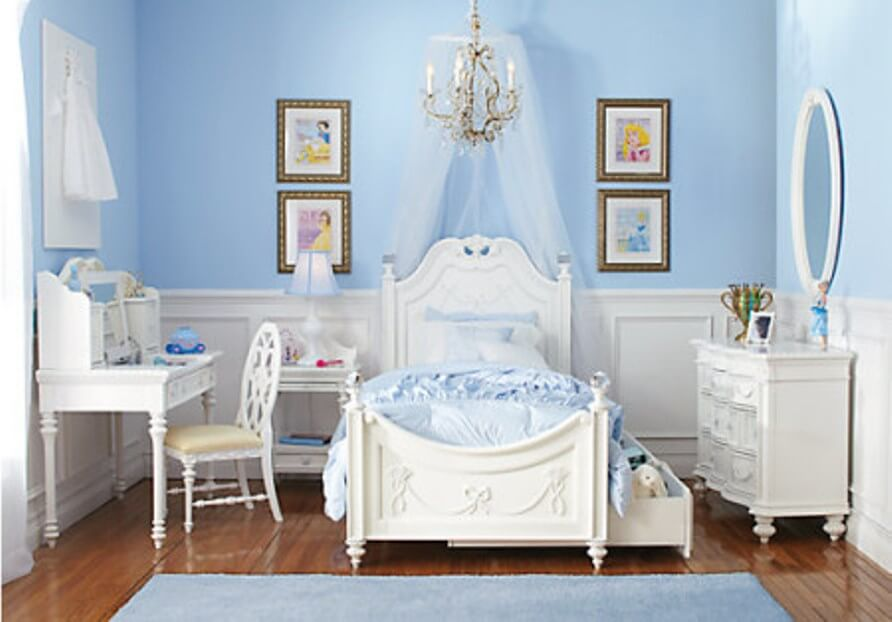 10 princess themed girl 39 s bedroom design ideas https - Rooms to go kids bedroom furniture ...