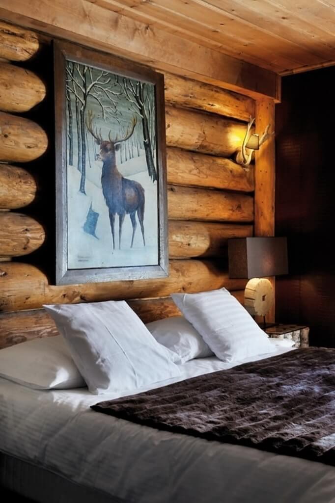 15 cozy and chic chalet bedroom designs https for Opulent bedrooms