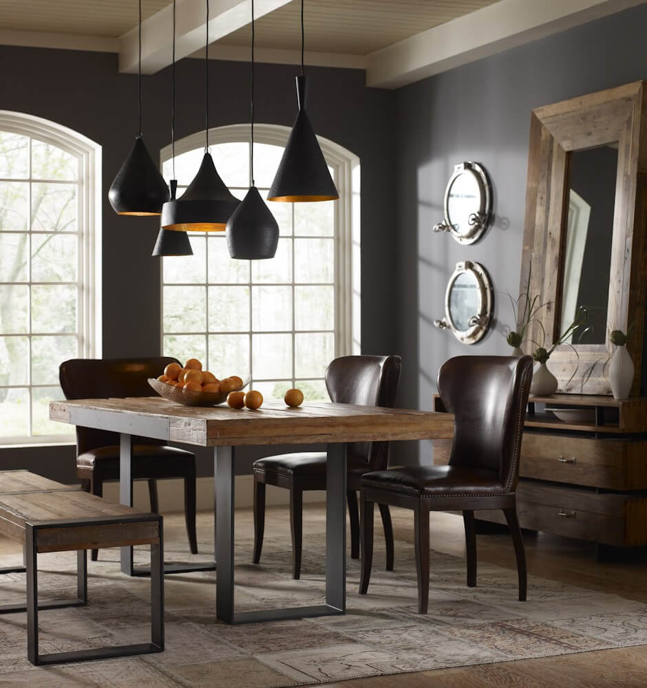 Dinning Room: Gorgeous Reclaimed Wood Dining Tables To Make Your Home