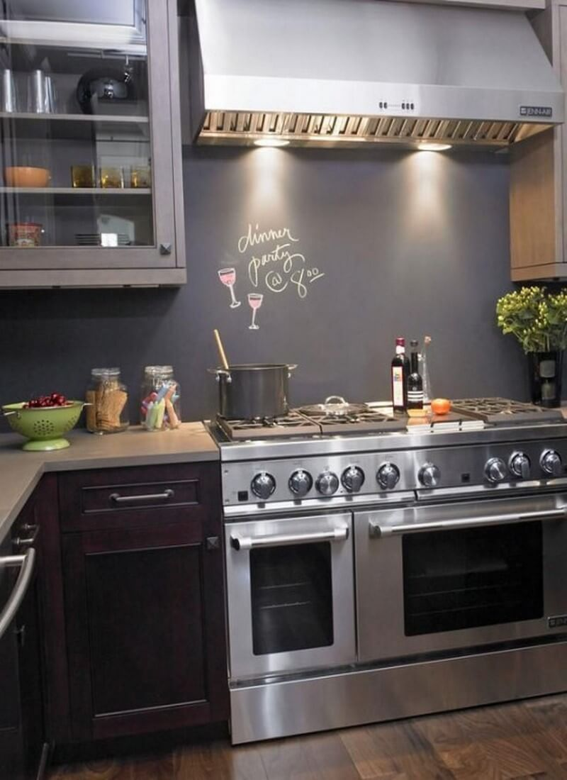 cool kitchen designs 9 cool kitchen designs with chalkboard wall https 2565