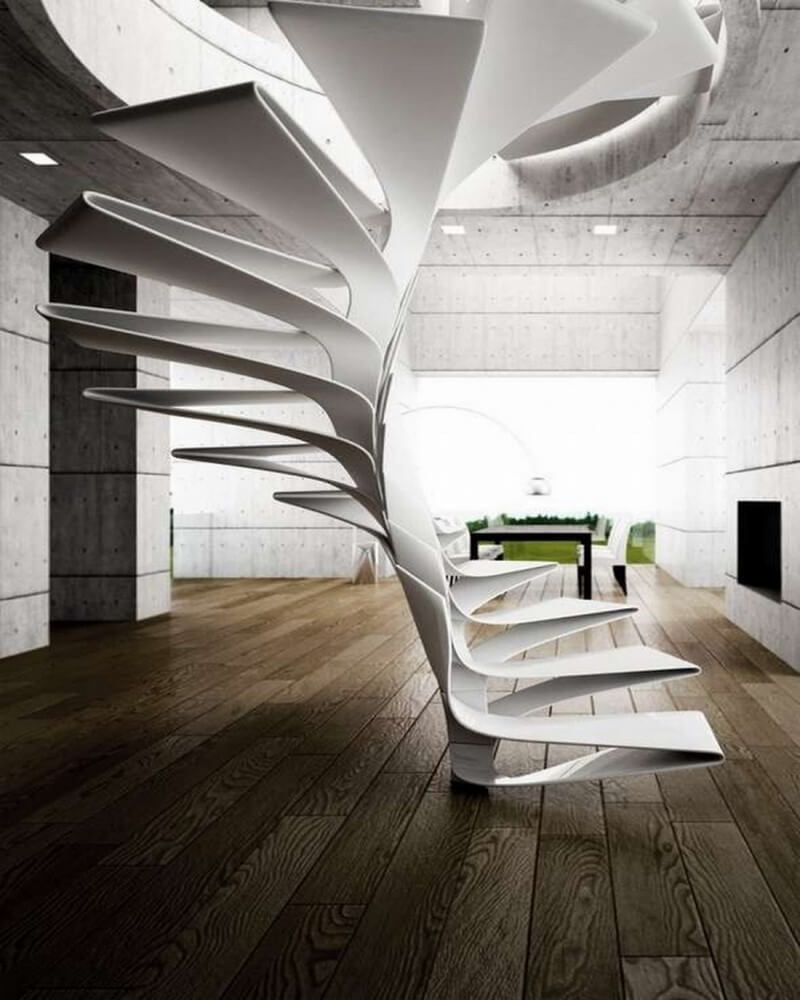 Plexiglass Staircase