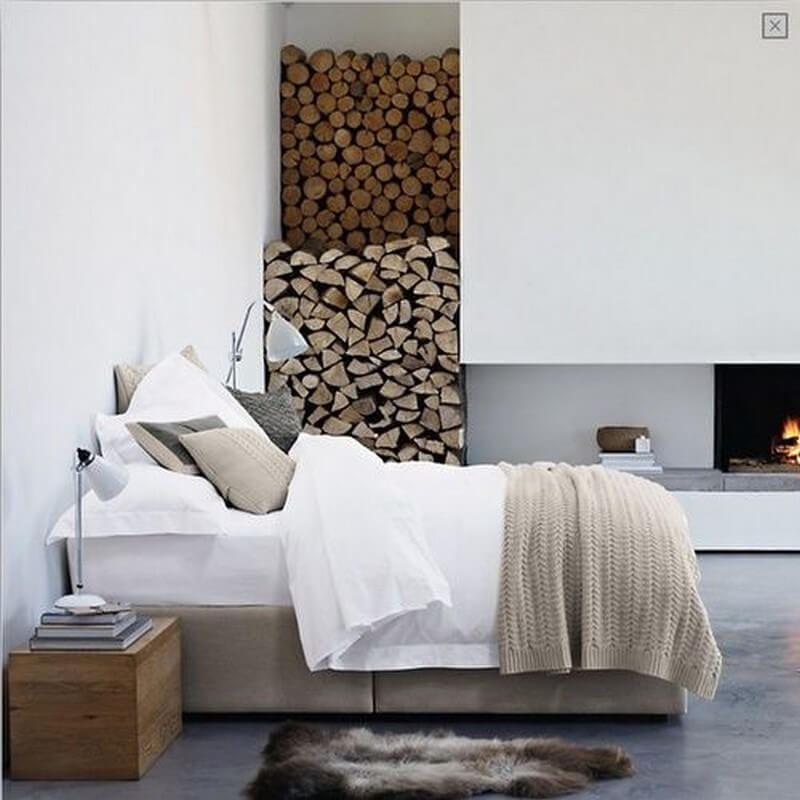 Neutral Scandinavian Bedroom