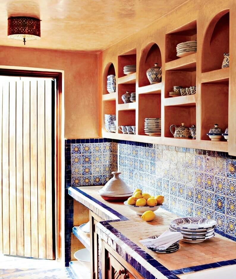 Exotic Morocoan Kitchen