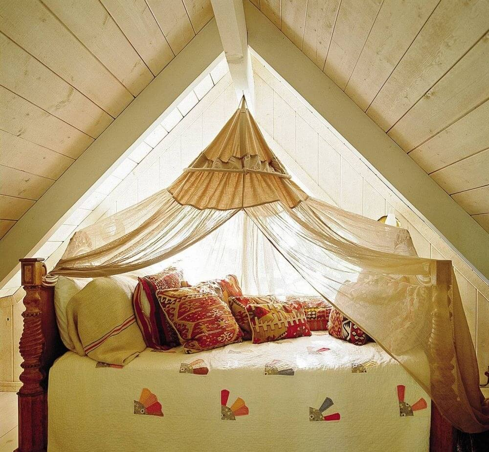 Attic Rustic Bedroom