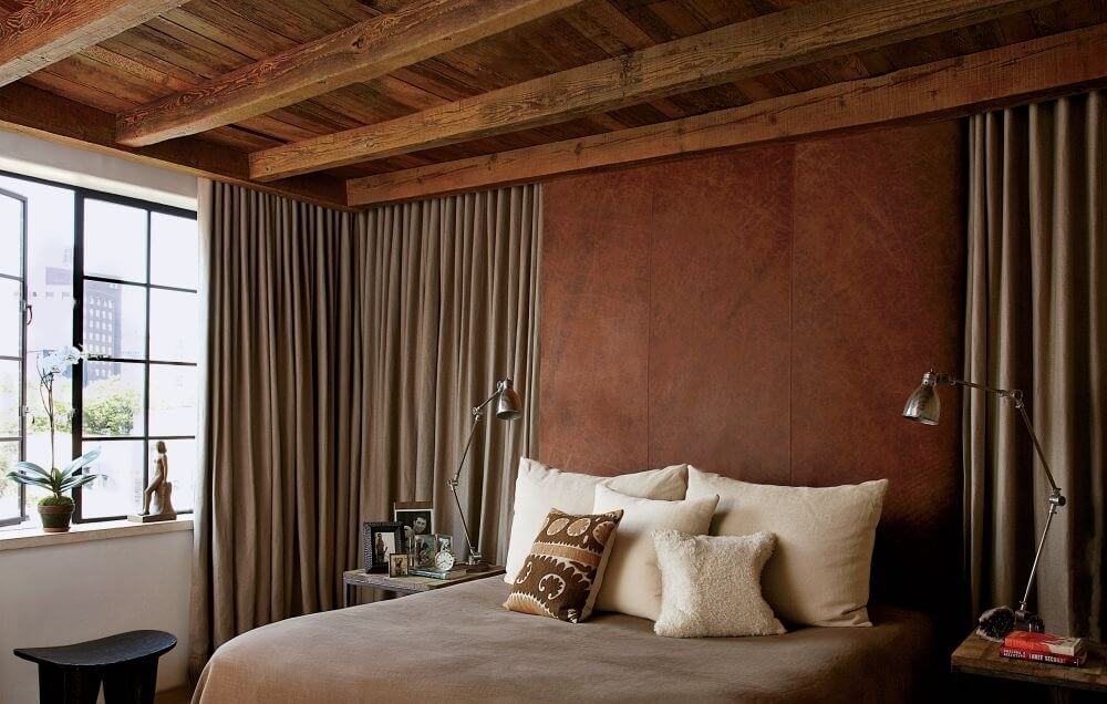 Dark Rustic Bedroom