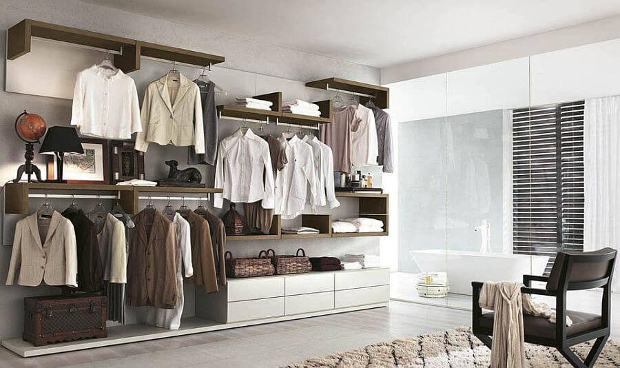 Smart Organization Open Closet