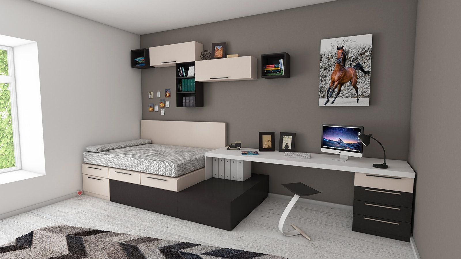 8 Practic and Versatile Murphy Beds for Small Spaces