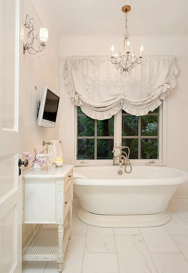 Amazing Shabby Chic Bathroom Design Ideas For A Feminine Feel