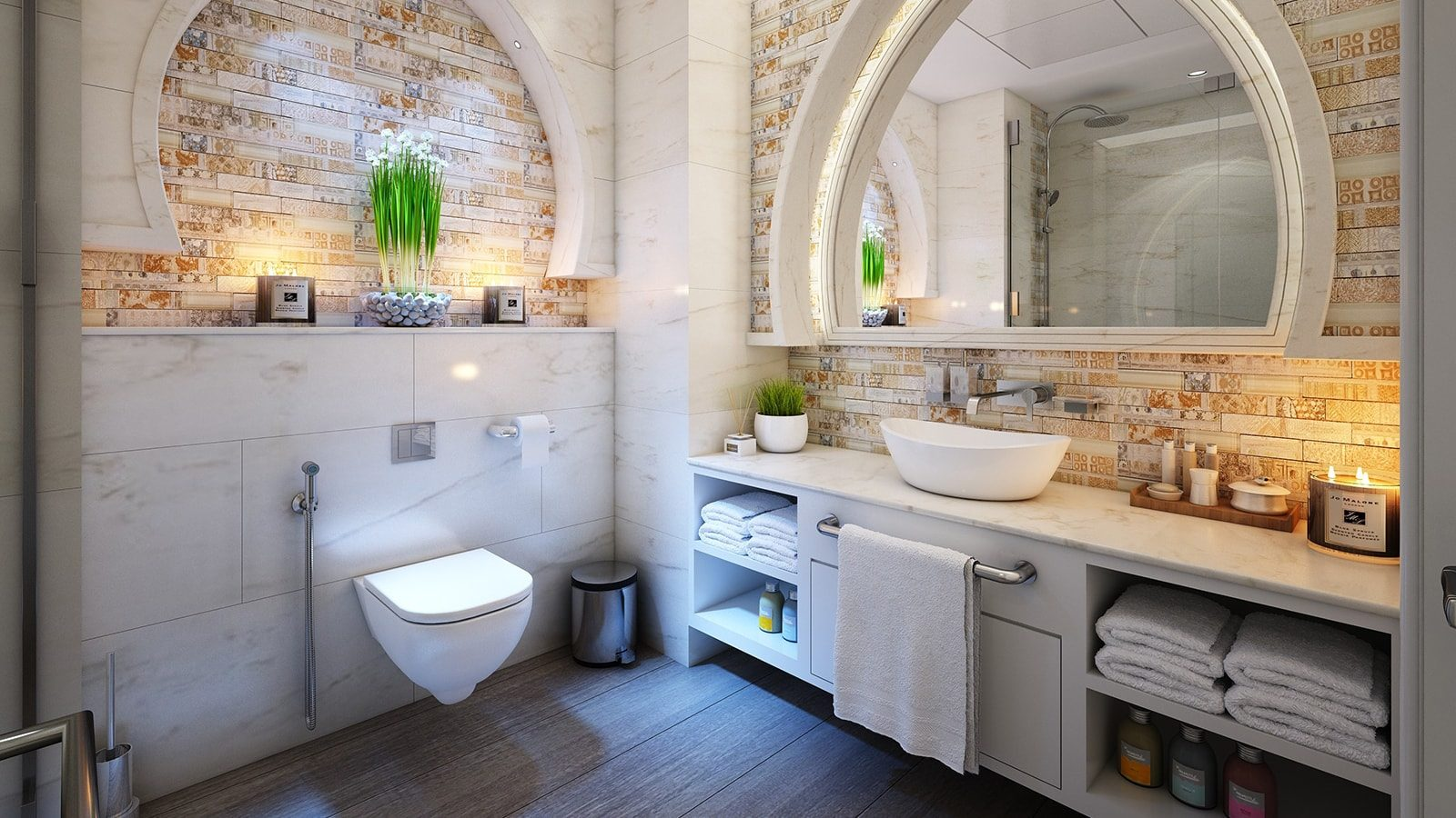 6 Small Bathroom Ideas on a Budget