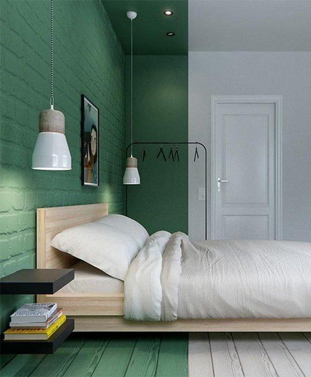 Half Green Wall
