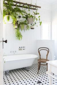 Hanging Bathroom Gardens