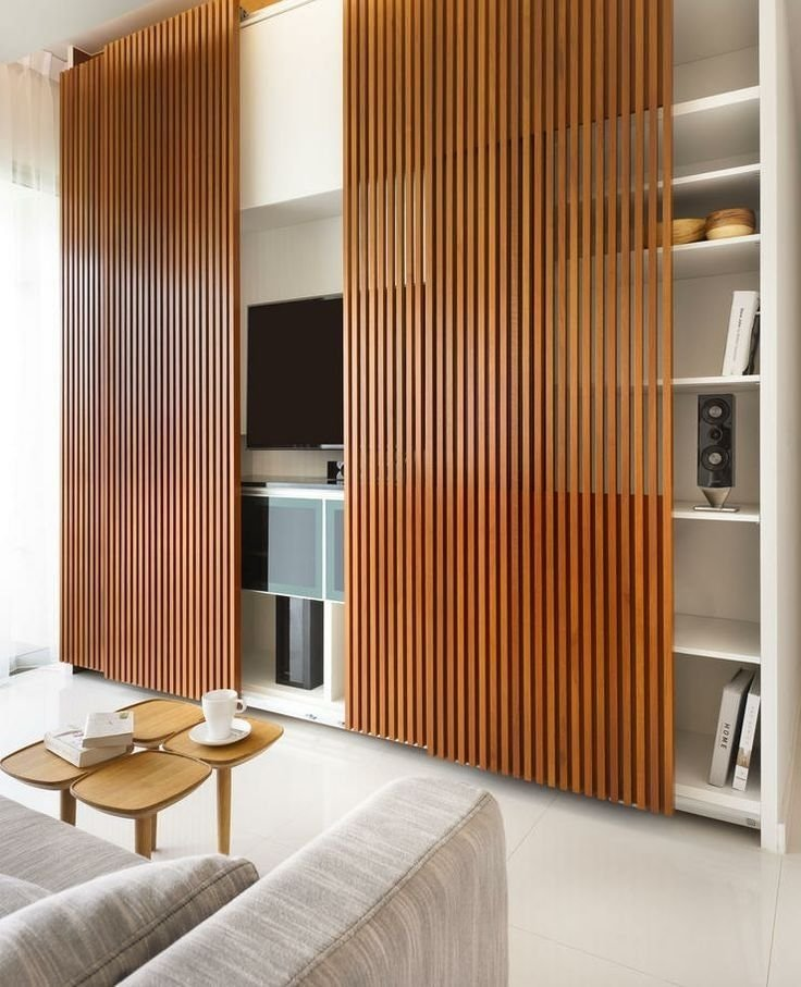 Sliding Slatted Doors