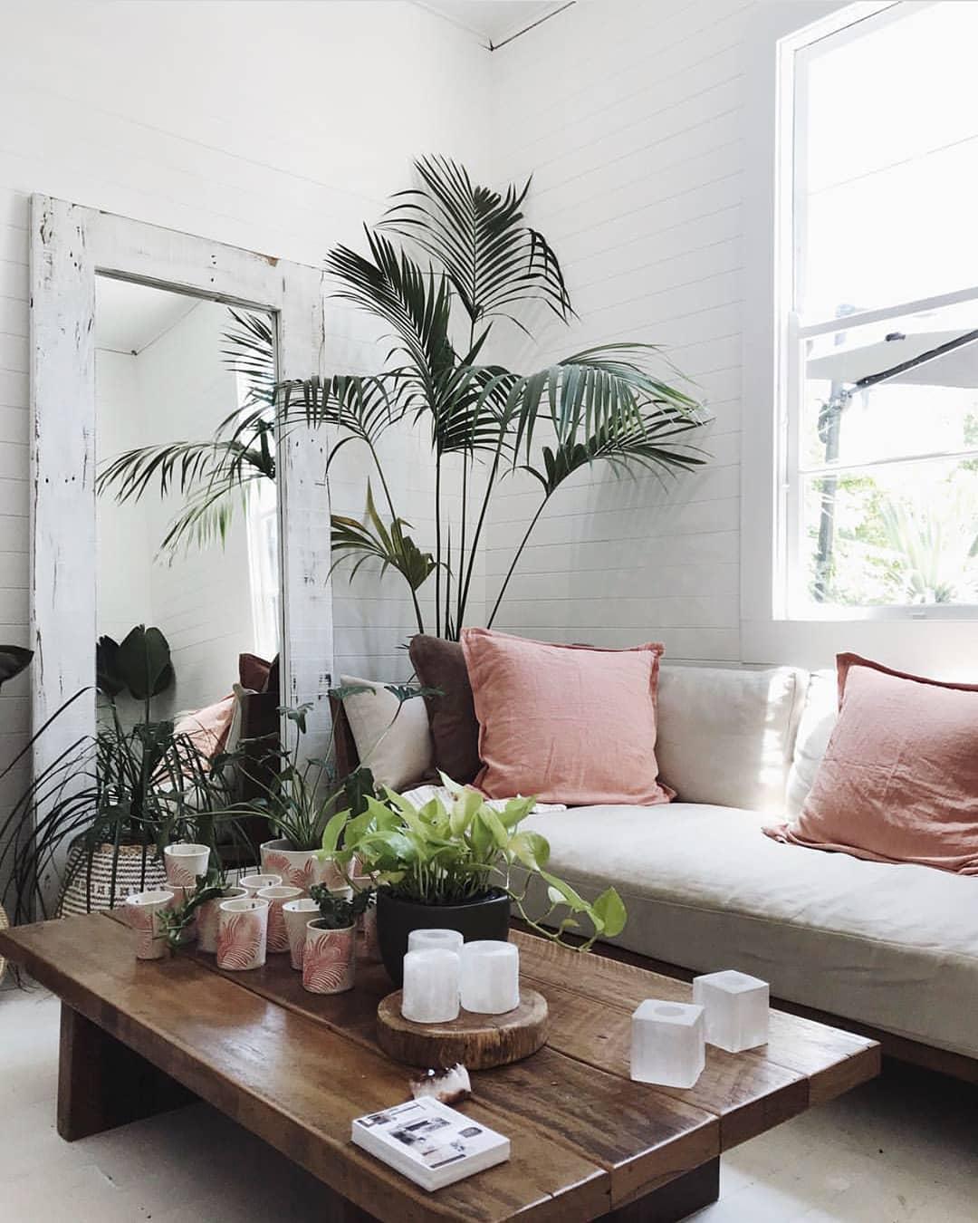 Vintage Spring Living Room