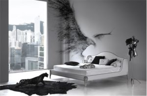 Black Bird Bedroom