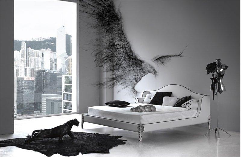 Black Bird Bedroom