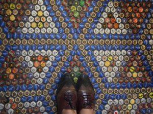 Bottle Cap Floor
