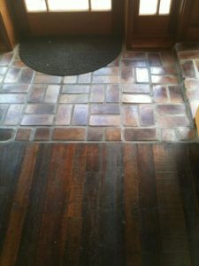 Brick and Wood Flooring