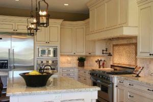 Crisp White Cabinets