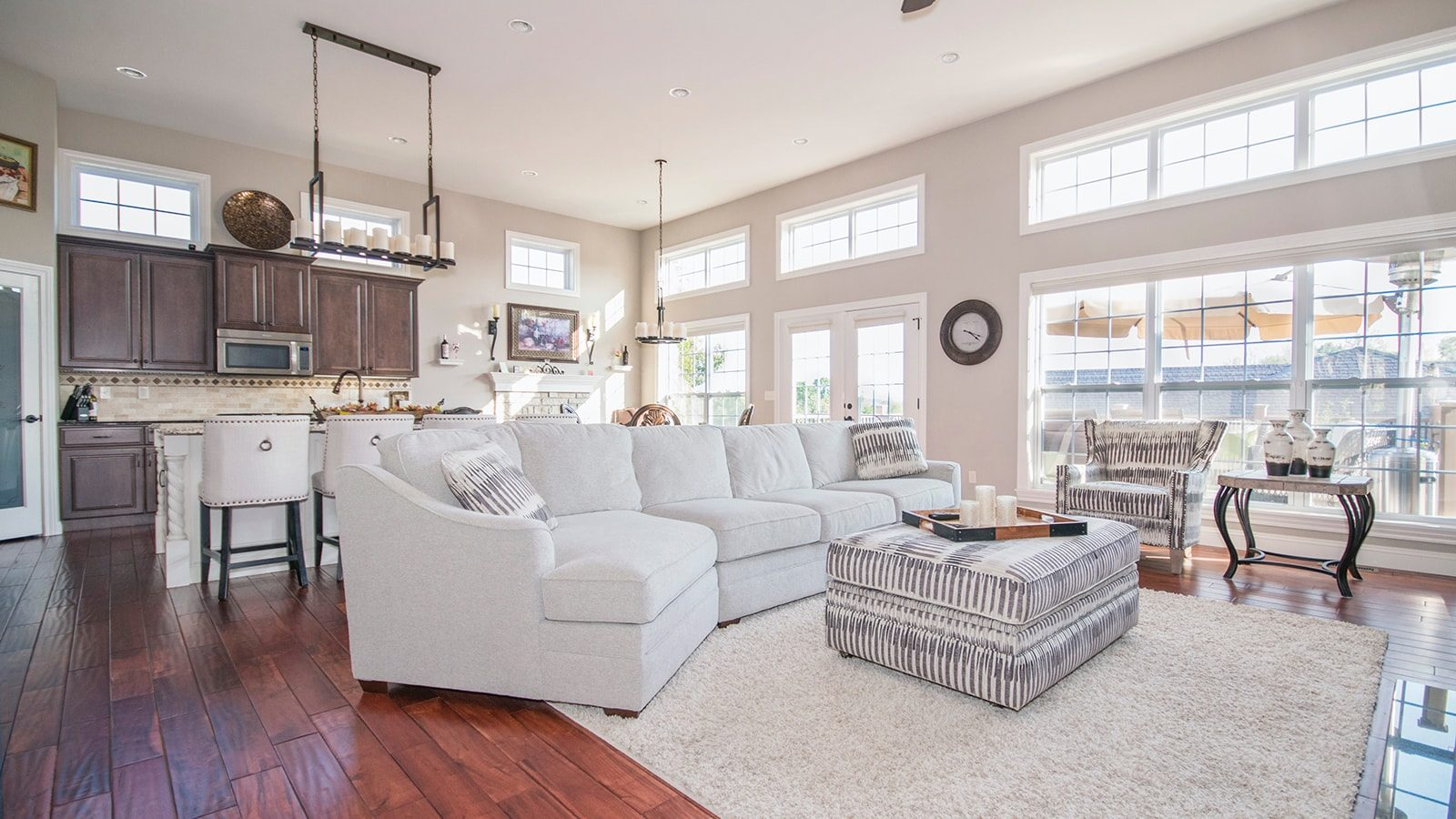 3 Fantastic Examples of How to Use Hardwood Floors in Your Home