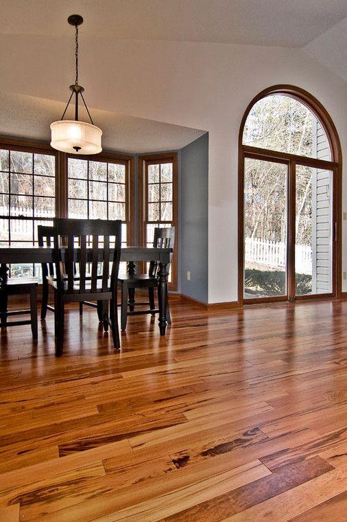 Vibrant Wood Floor