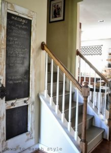 Stairwell Chalkboard