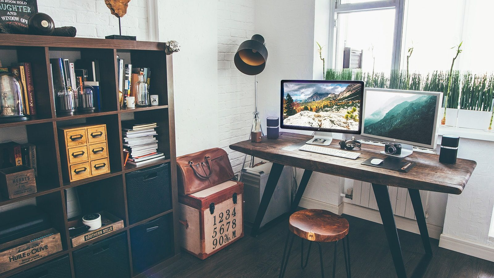 Functional and Beautiful Home Office