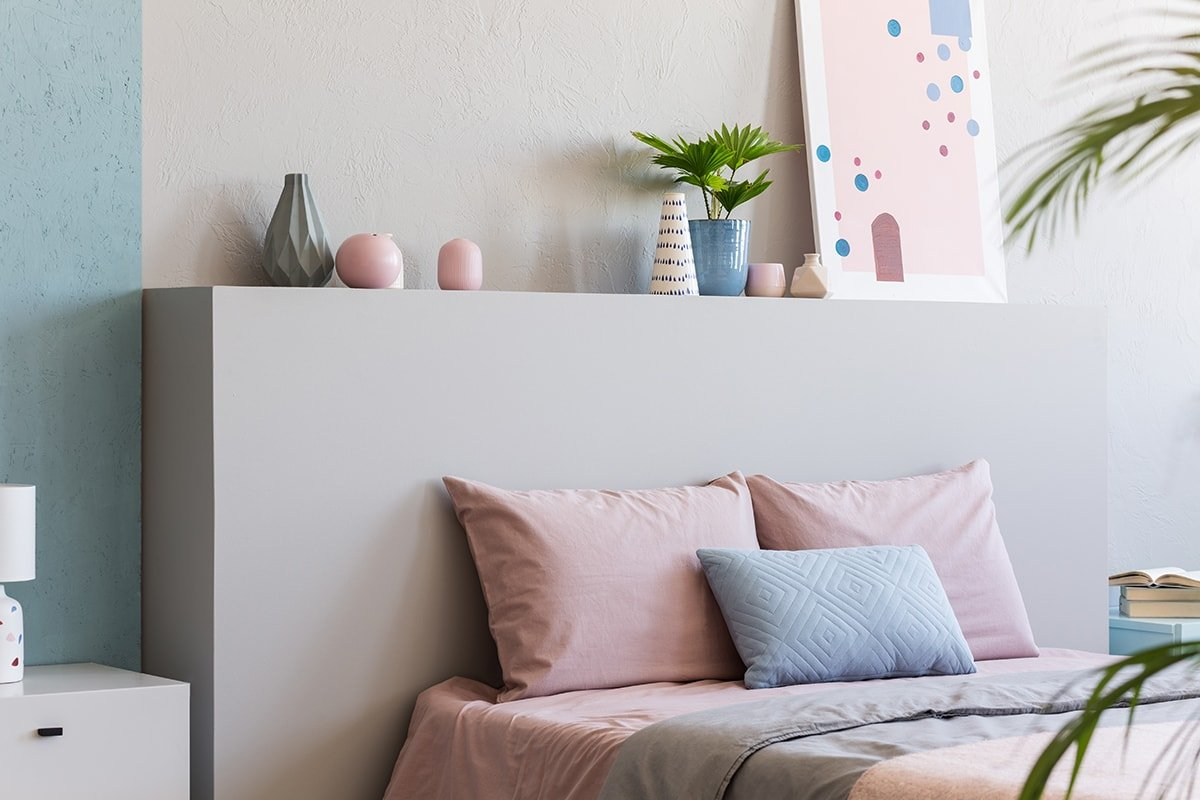 Room with soft colors