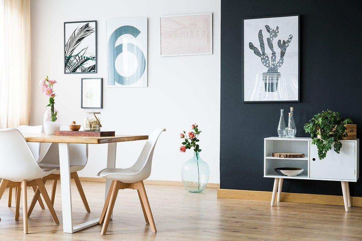Eco calm style interior