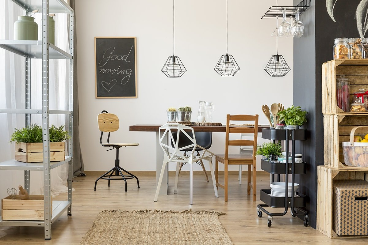 Vintage Chic Style Dining Room