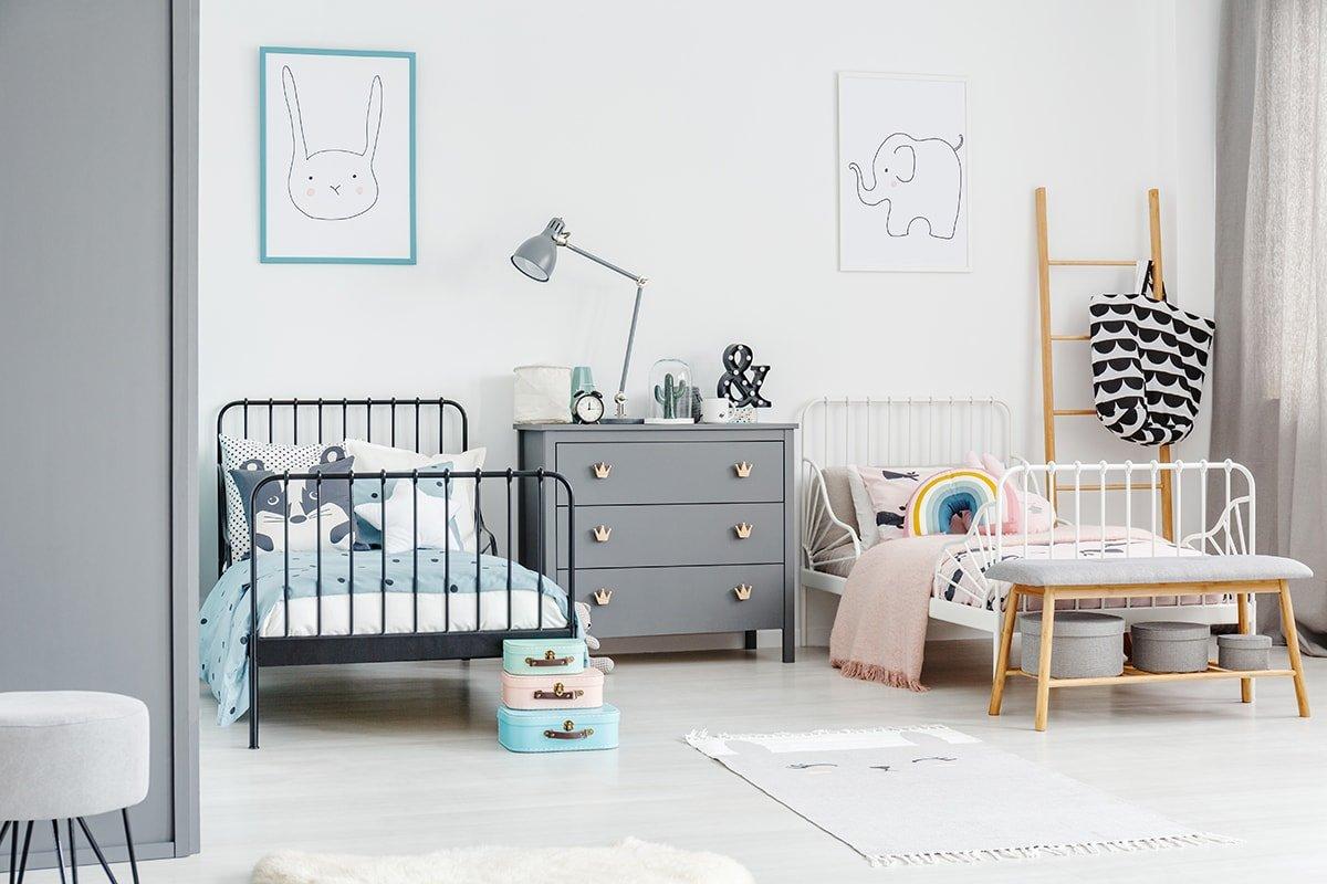 Half boy's room half girl's room