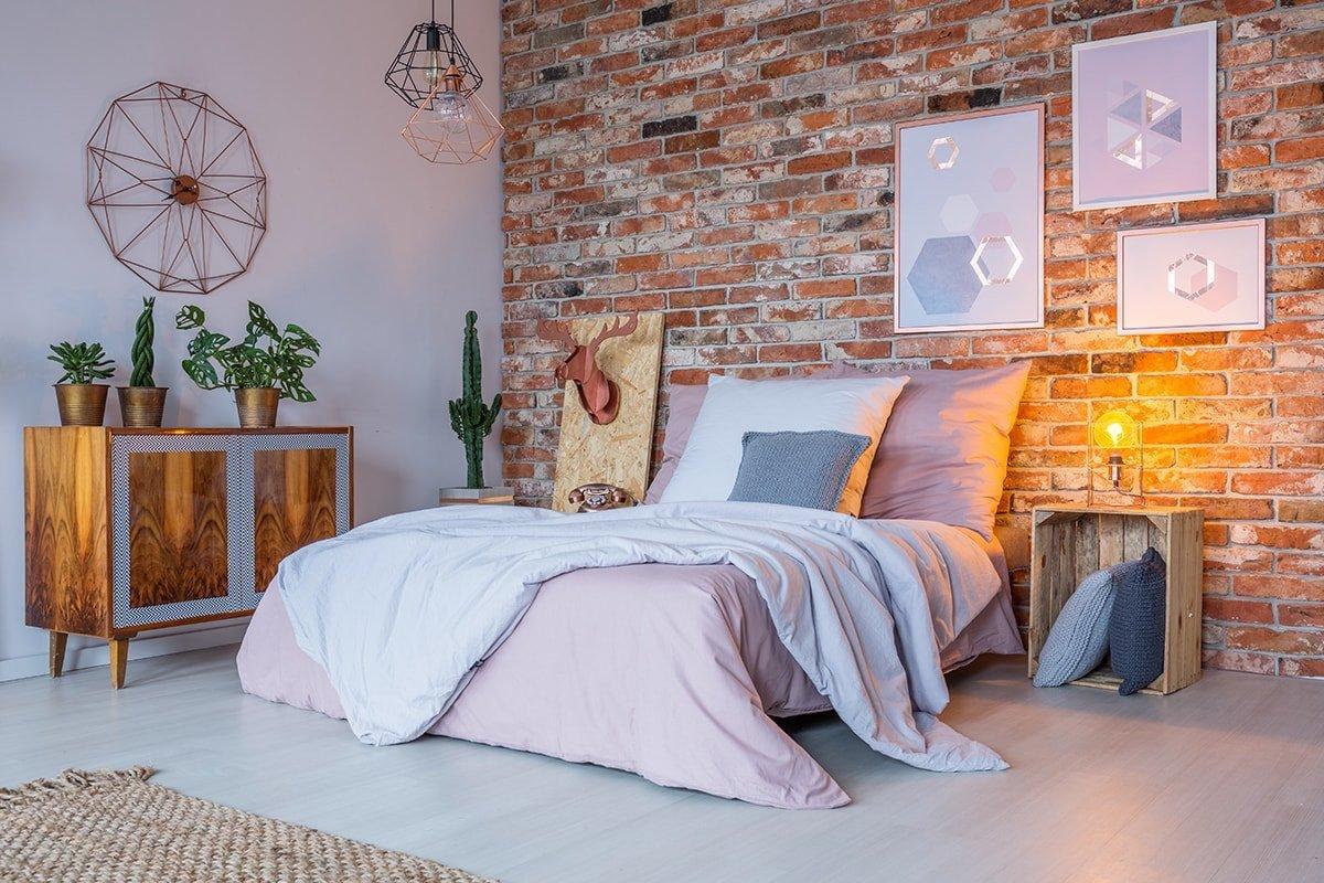 Pre-bedtime bedroom